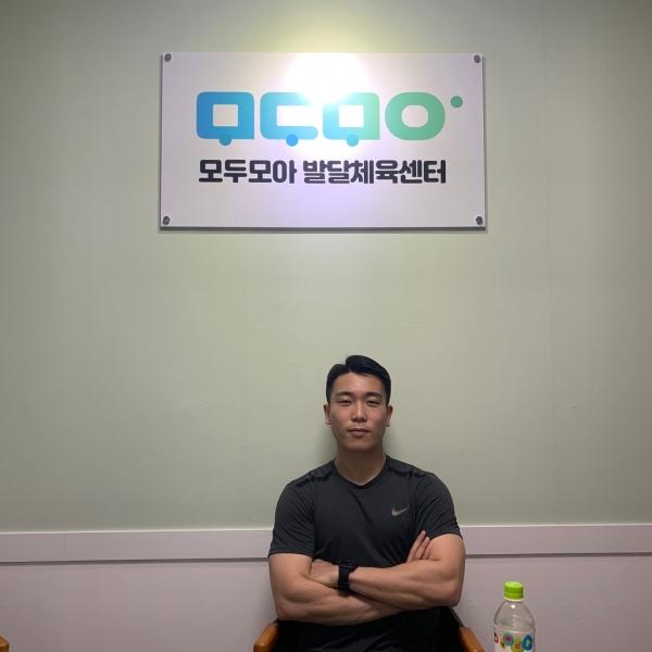 설유환 모두모아 발달 체육센터 원장.