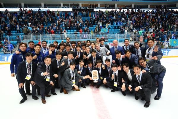 2019 세계선수권대회(카자흐스탄) 당시 최광은 과장(맨 앞줄 가장 왼쪽)