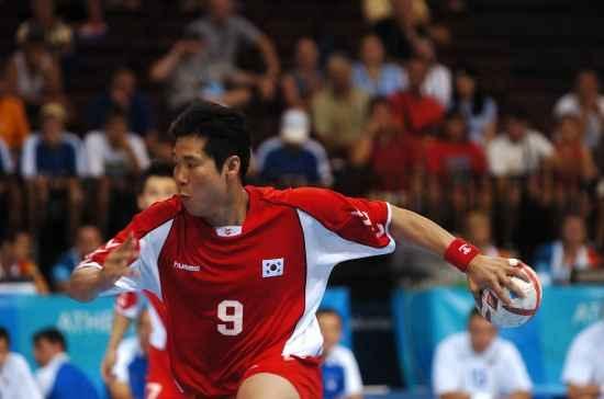 2004 아테네 올림픽 국가대표 선수시절 최승욱 팀장.